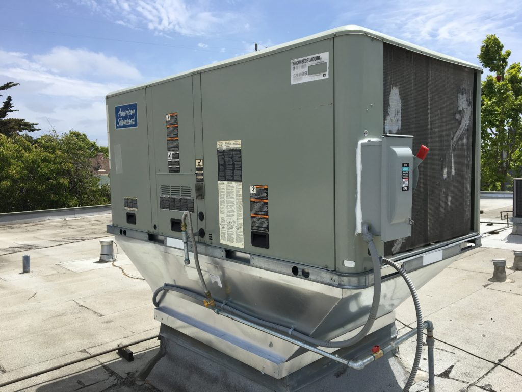 High efficiency commercial package unit